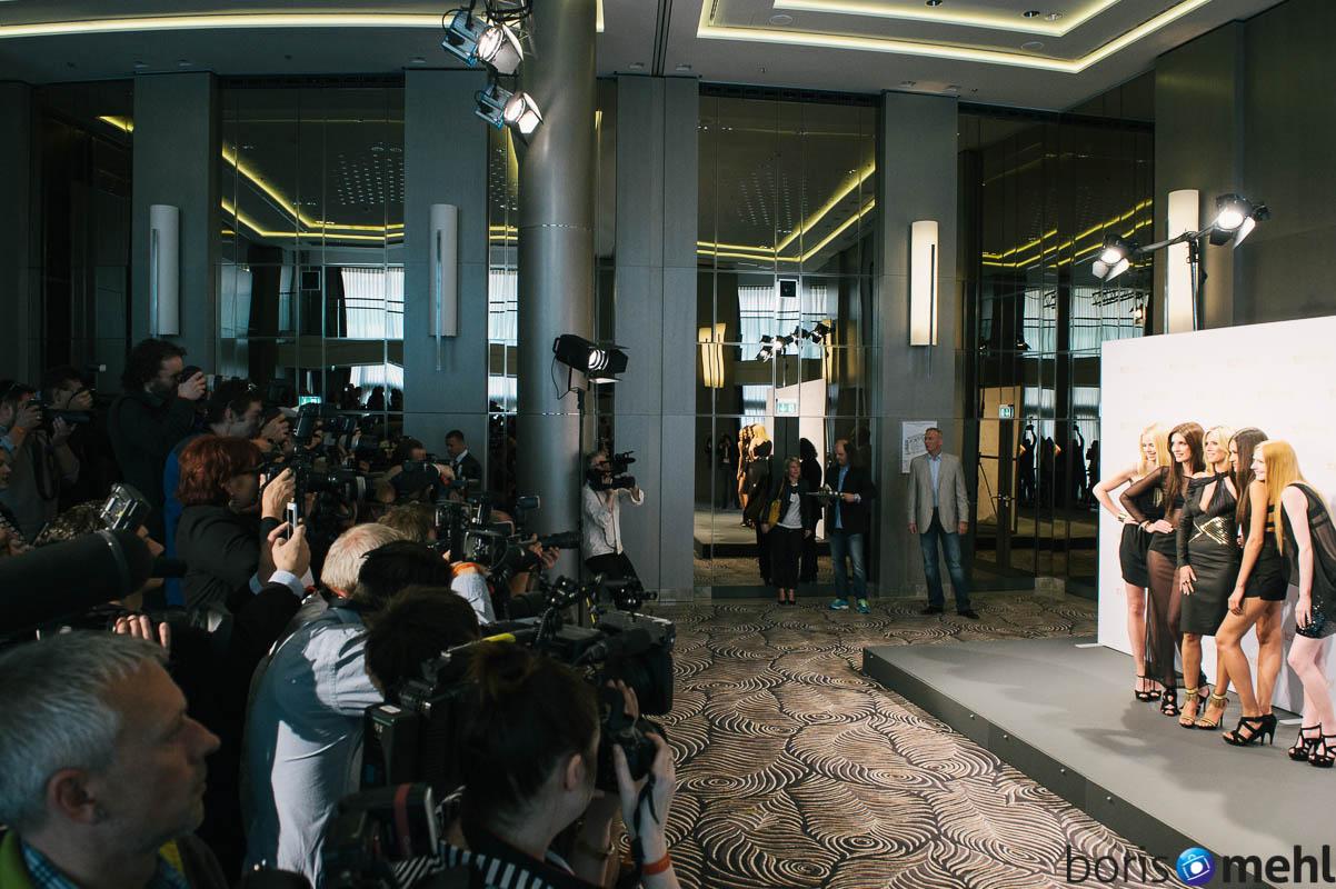 Heidi Klum, Germanys next Topmodel, Pressekonferenz am 27. Mai 2013, Berlin, Hotel Waldorf Astoria