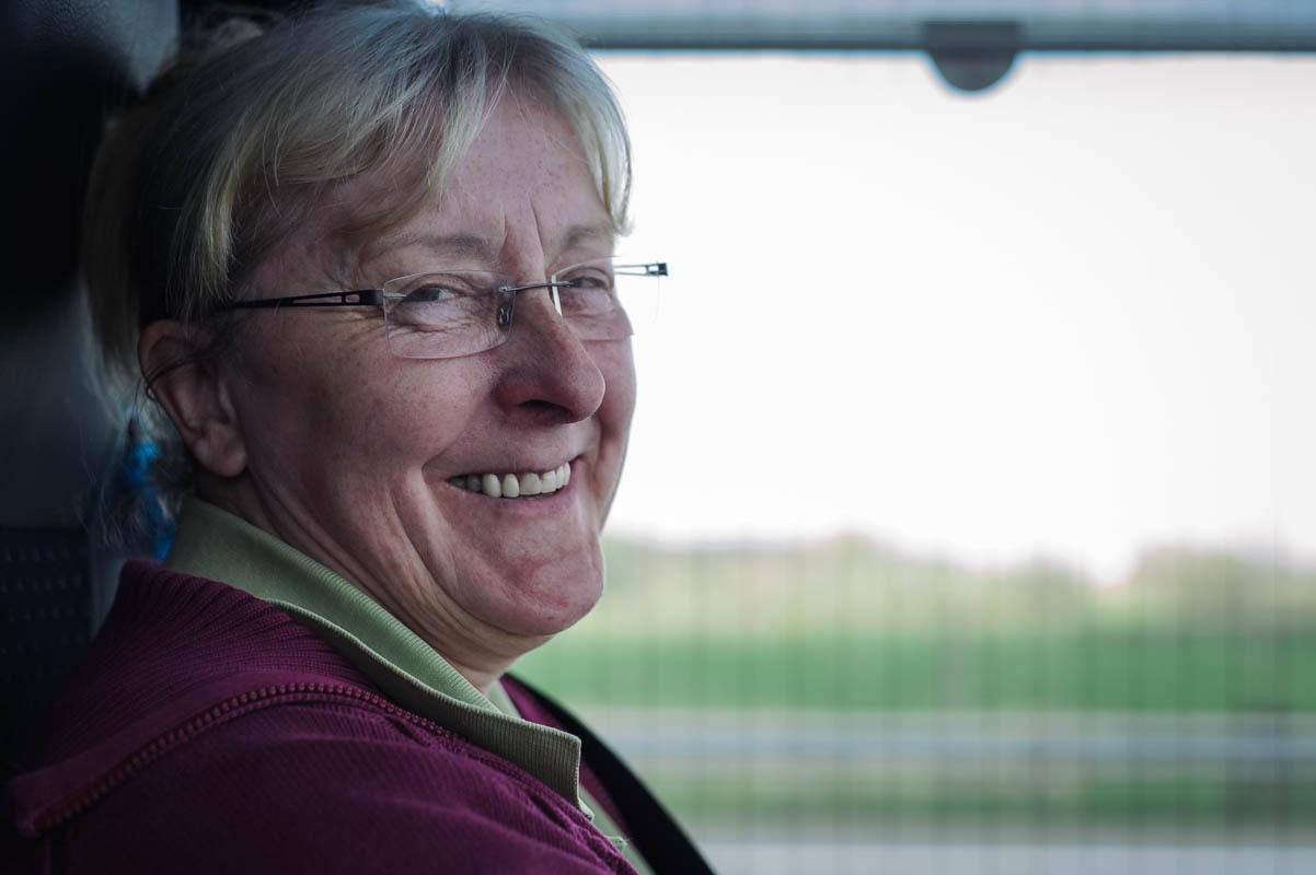 Mary - unsere Busfahrerin