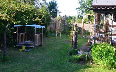 Garten zurück erobert