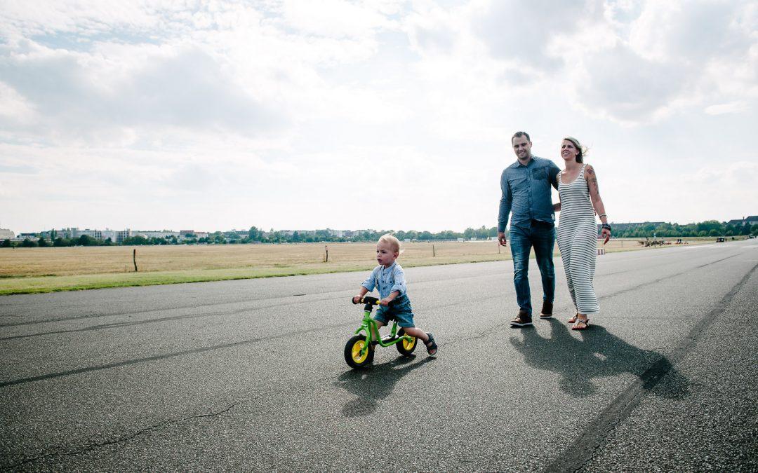 Familienfotos Tempelhofer Feld Berlin