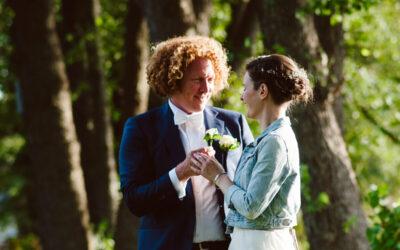 Hochzeit im Haus am Bauernsee in Dobbrikow