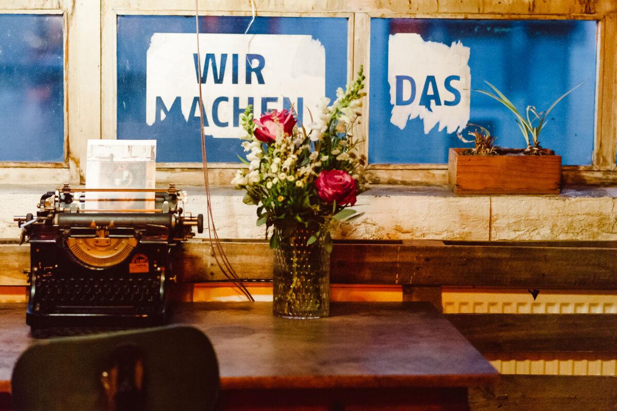 Hochzeitsreportage Fabrik 23 Berlin