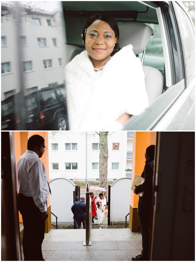 Hochzeitsreportage in der Botschaft von Gabun in Berlin