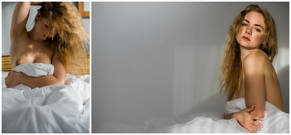 Akt Fotoshooting im Hotel